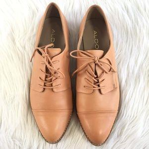 Aldo Leather Lace Up Dress Shoes